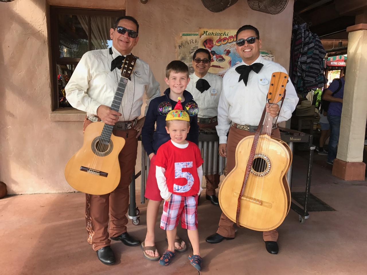 Epcot Mariachi Cobre Trio