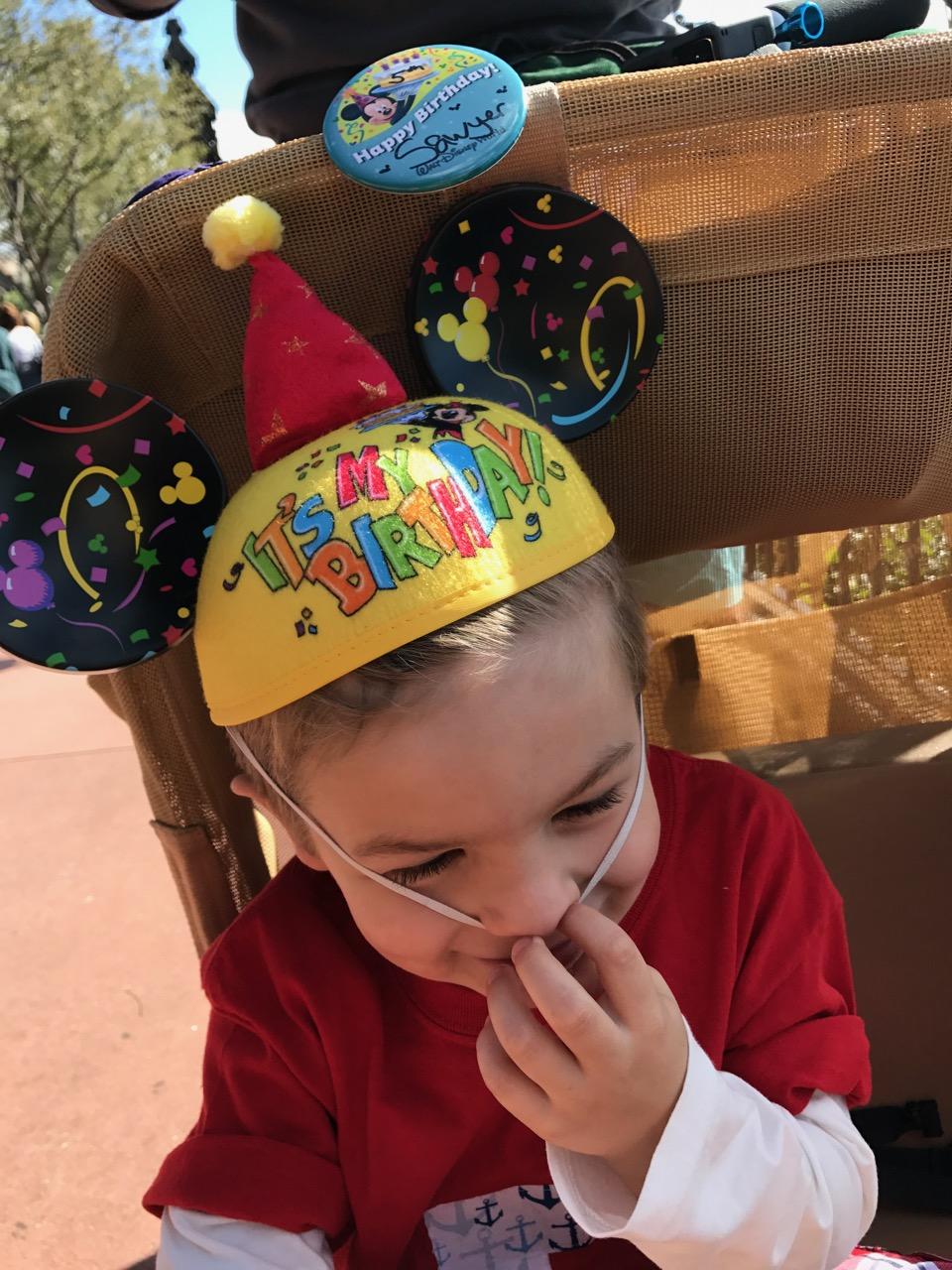 Epcot Mickey Ears Birthday Hat