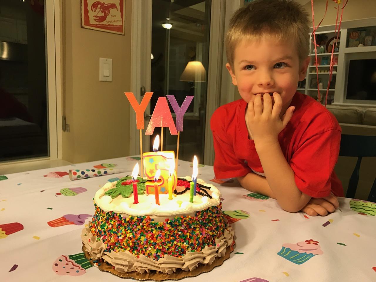 Muppet Birthday Cake
