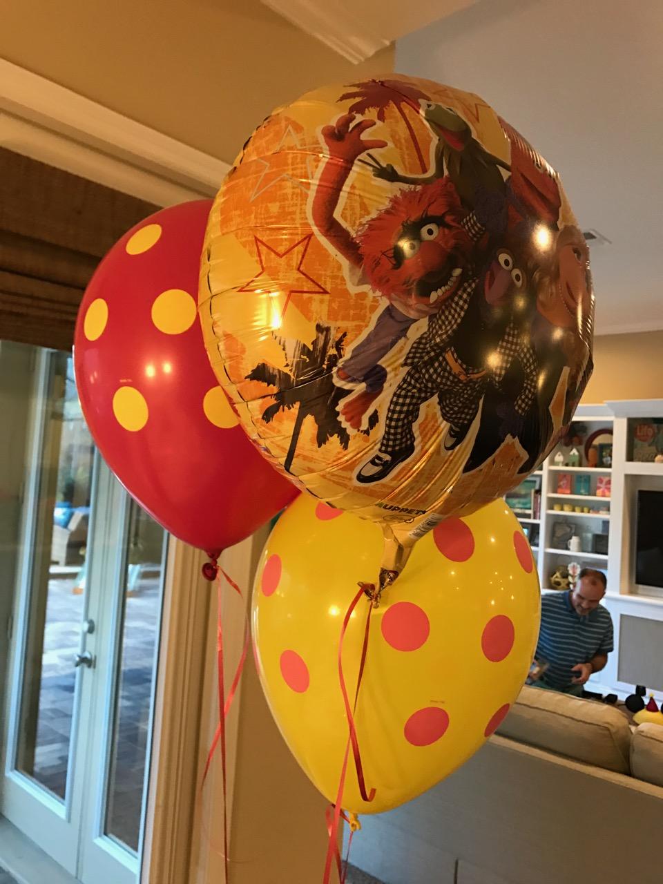 Muppet\'s Birthday Balloons
