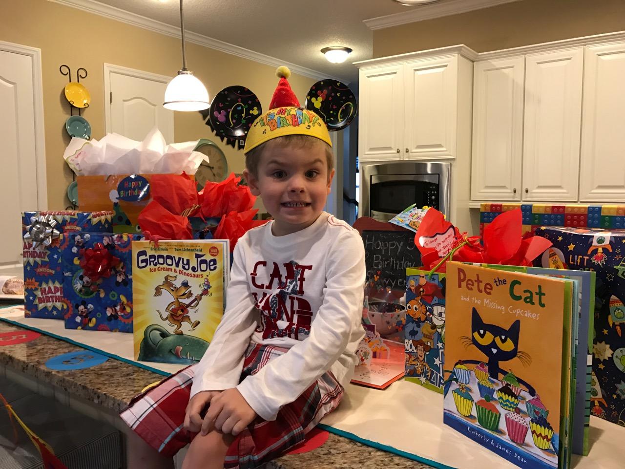 Sawyer\'s Birthday Spread