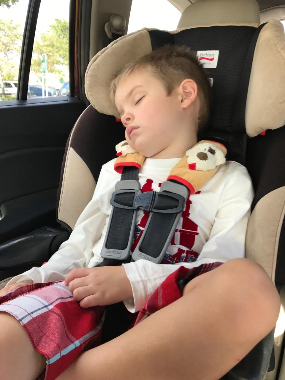 Sleepy Boy after Epcot