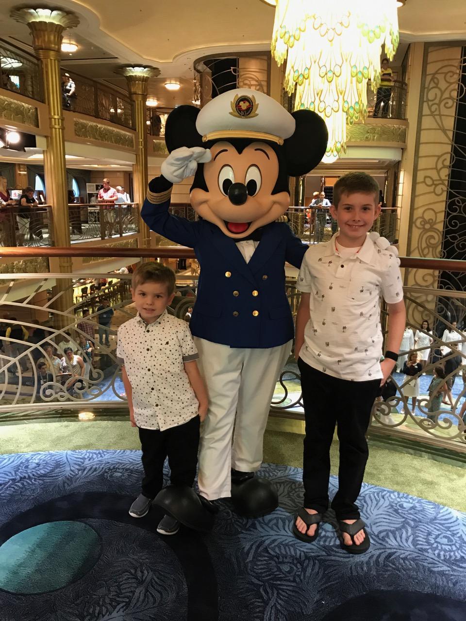 Disney Fantasy Captain Mickey