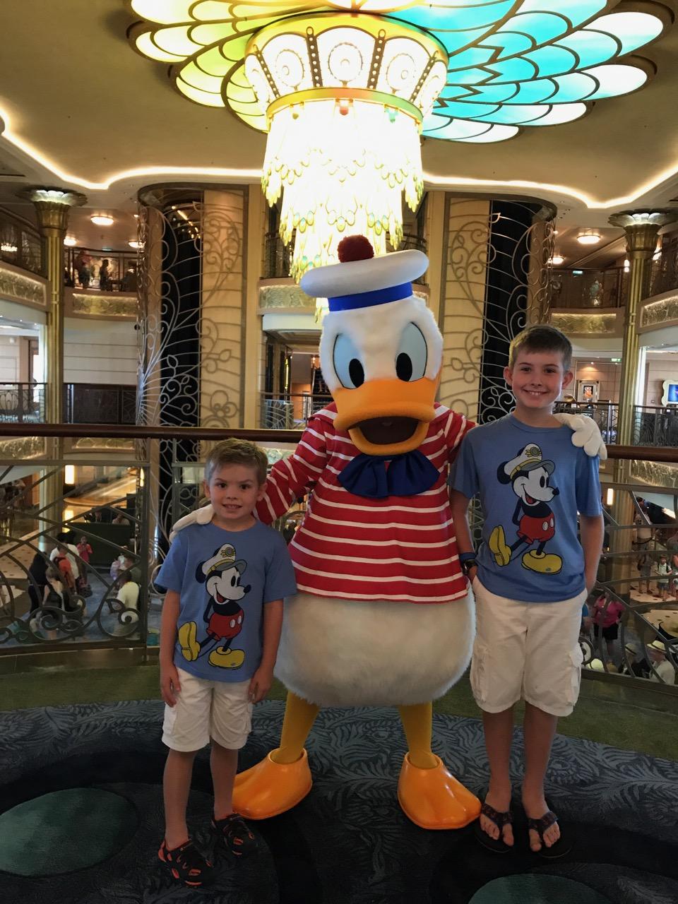 Disney Fantasy Donald Duck
