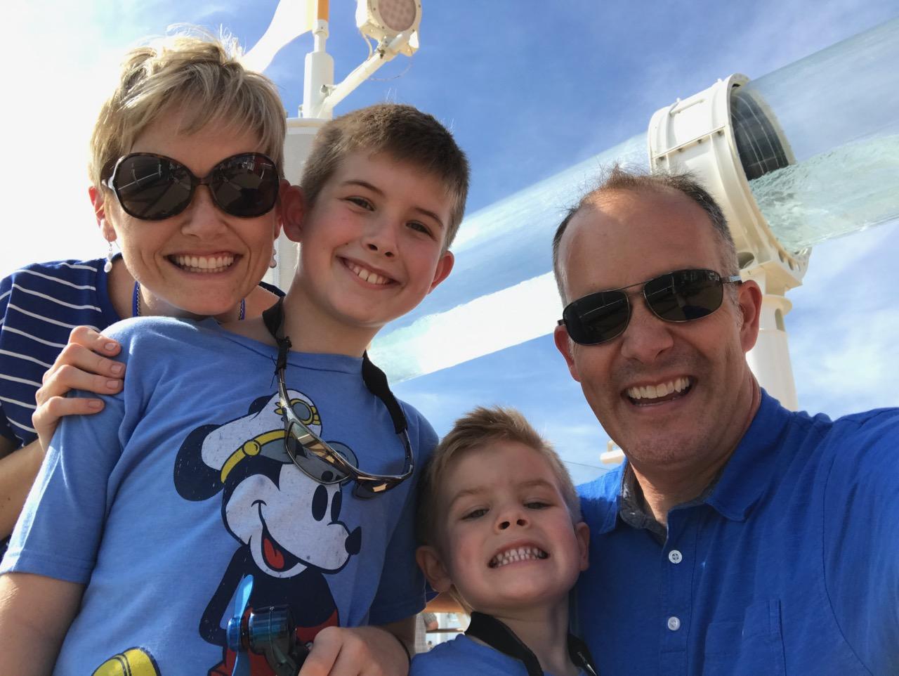 Disney Fantasy Sail Away Party Selfie