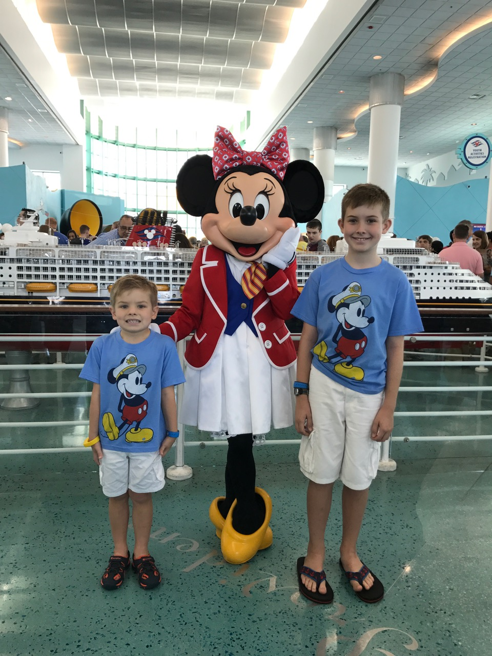 Minnie Mouse Port Canaveral Disney Fantasy