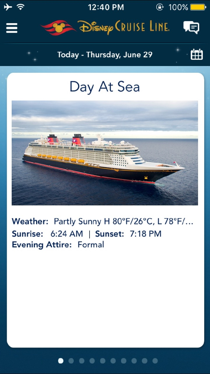 Disney Fantasy 10 Night Southern Caribbean Navigator App