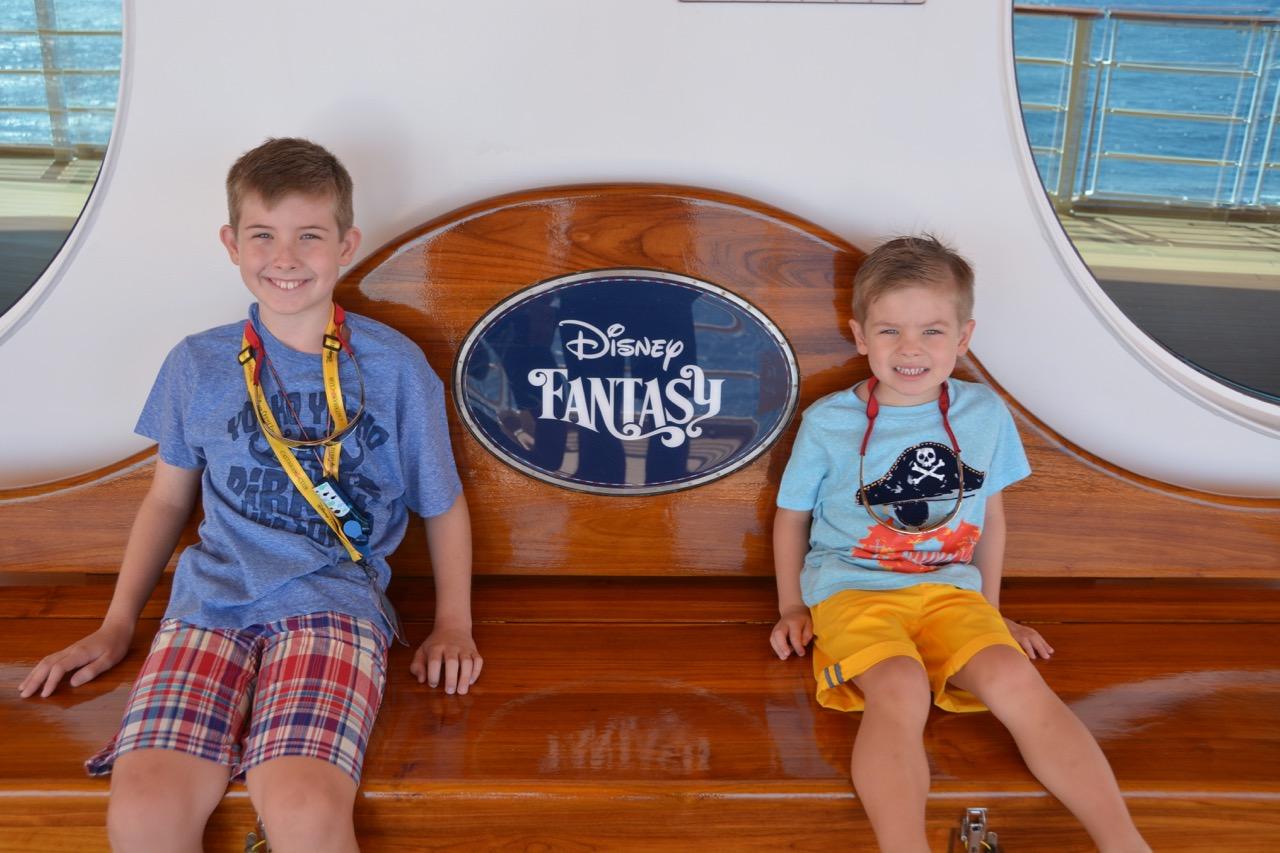 Disney Fantasy Deck Four Bench