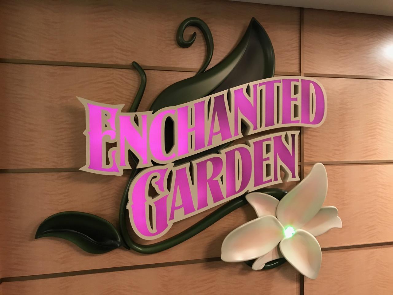 Disney Fantasy Enchanted Garden