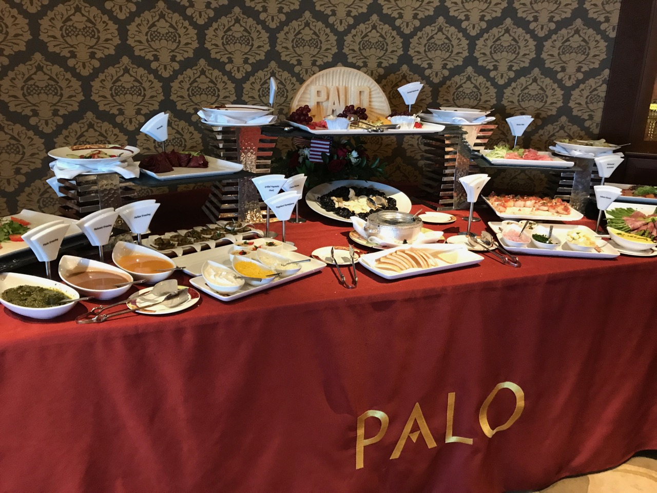 Disney Fantasy - Palo Brunch Buffet