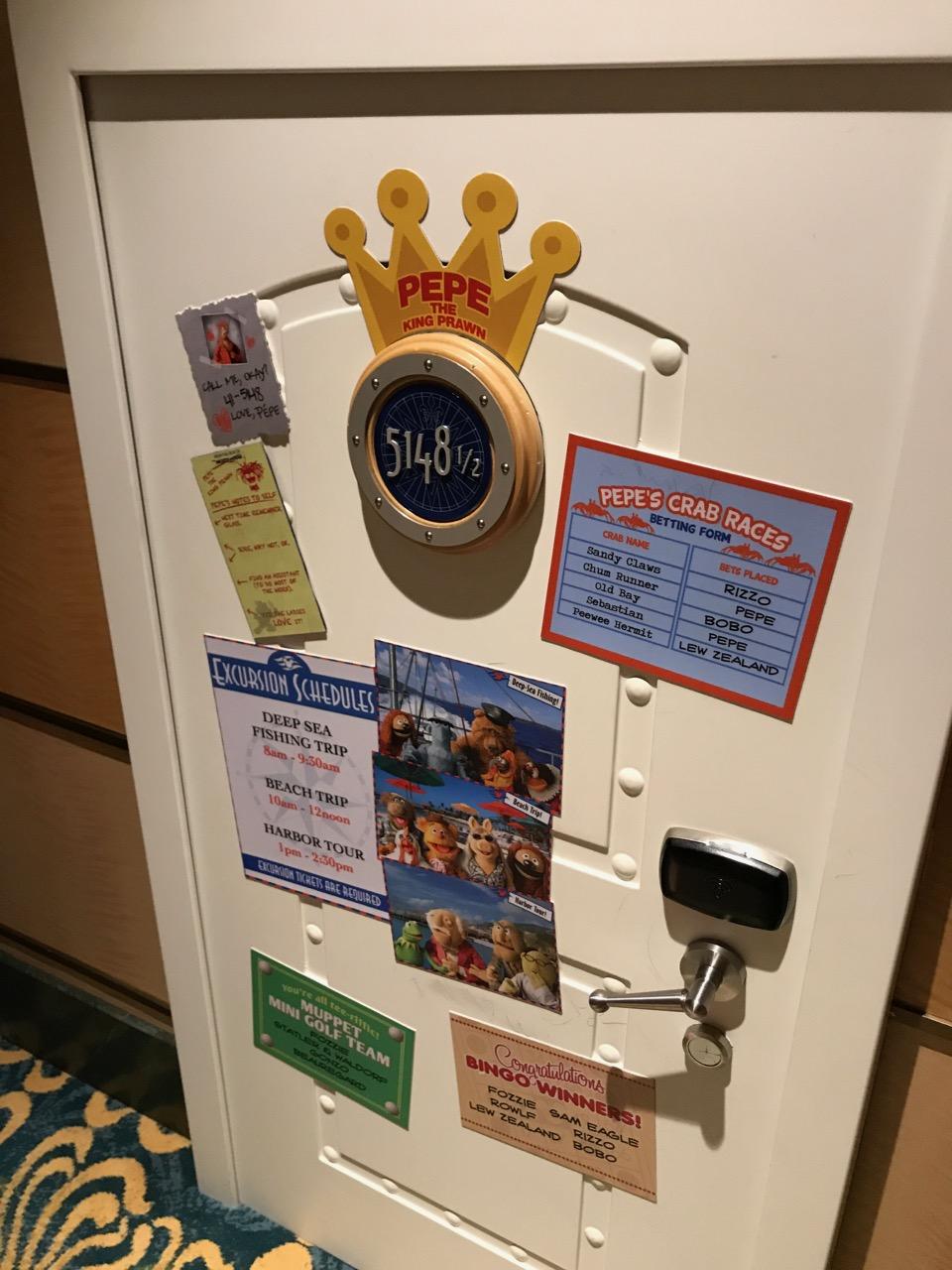 Disney Fantasy Pepe\'s Door