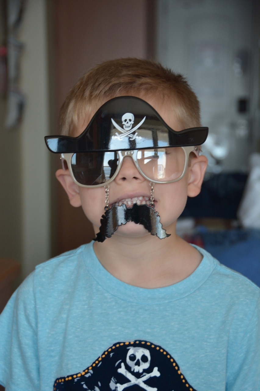 Disney Fantasy Pirate Glasses
