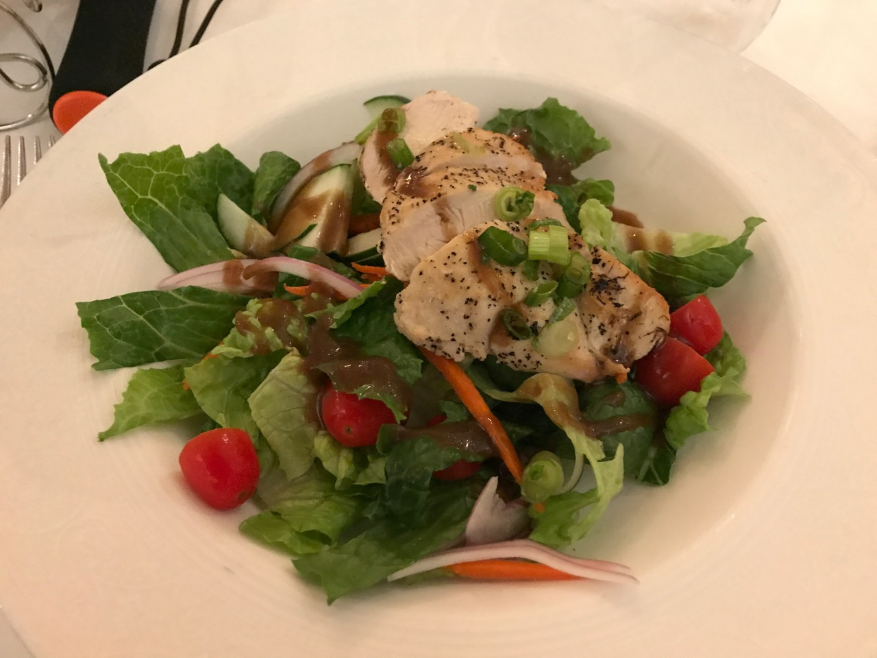 Disney Fantasy Royal Palace Lunch Salad