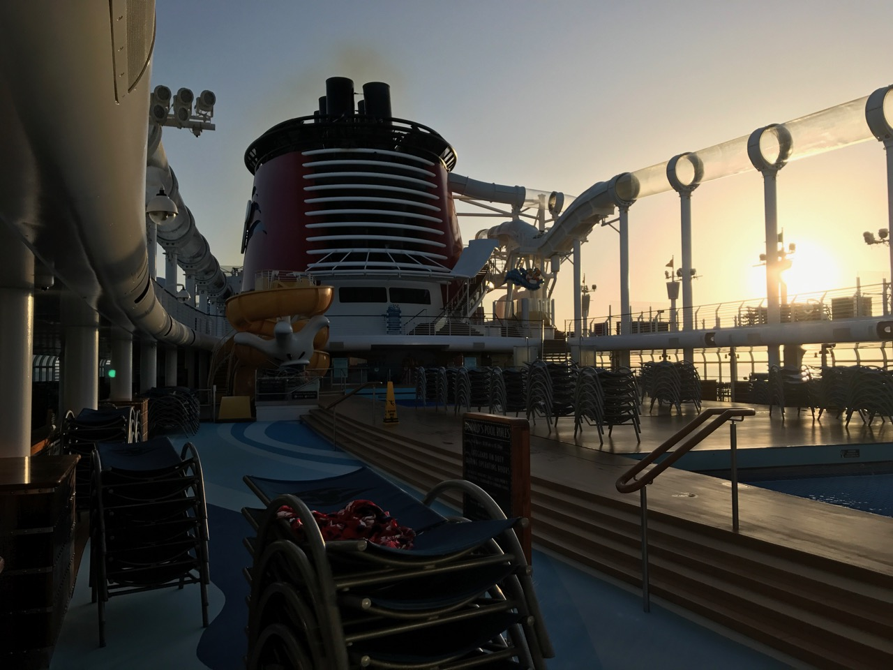Disney Fantasy Sunrise on Deck 11