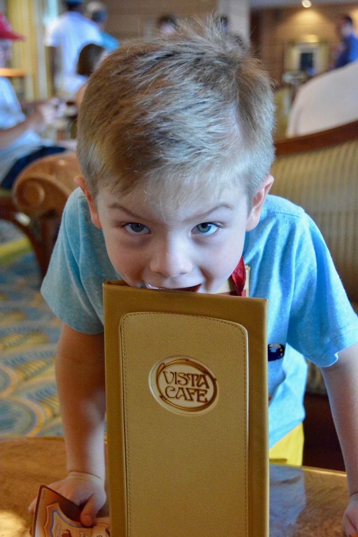 Disney Fantasy Vista Cafe