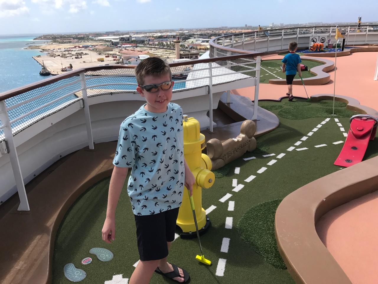 DIsney Fantasy - Goofy Golf
