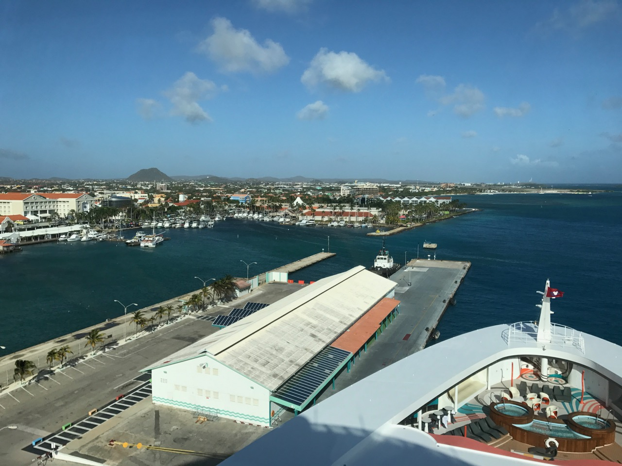 Disney Fantasy - Aruba Port