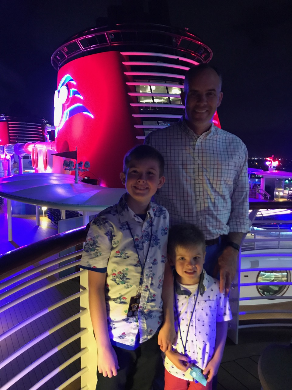 Disney Fantasy - Night on Deck 12