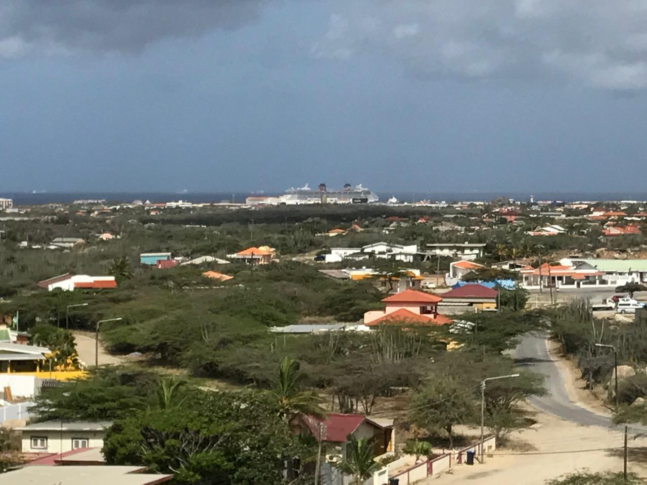 Disney Fantasy in the port of Aruba