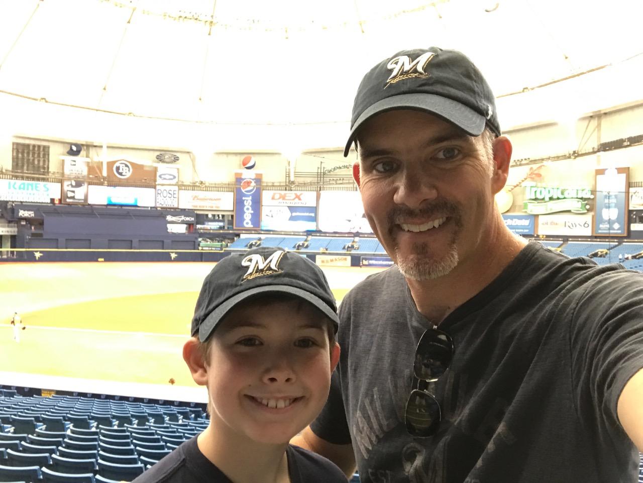 Tropicana Field - Rays vs. Brewers