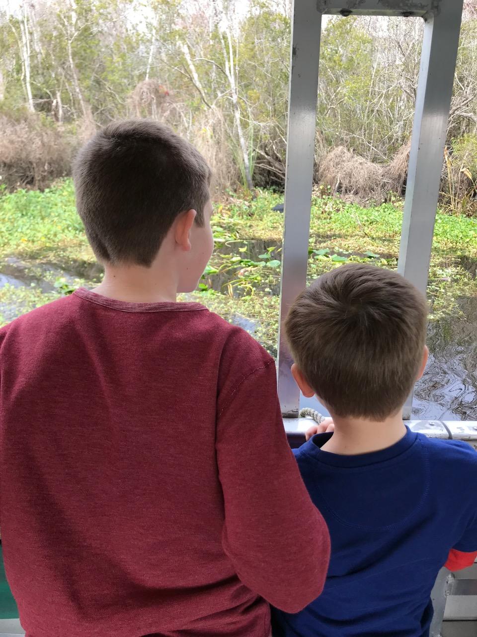 De Leon Springs State Park Boat Tour