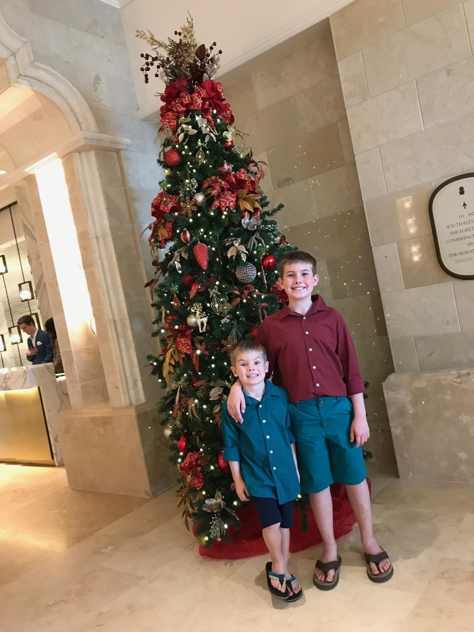 Ritz Carlton Orlando - Holiday Decorations