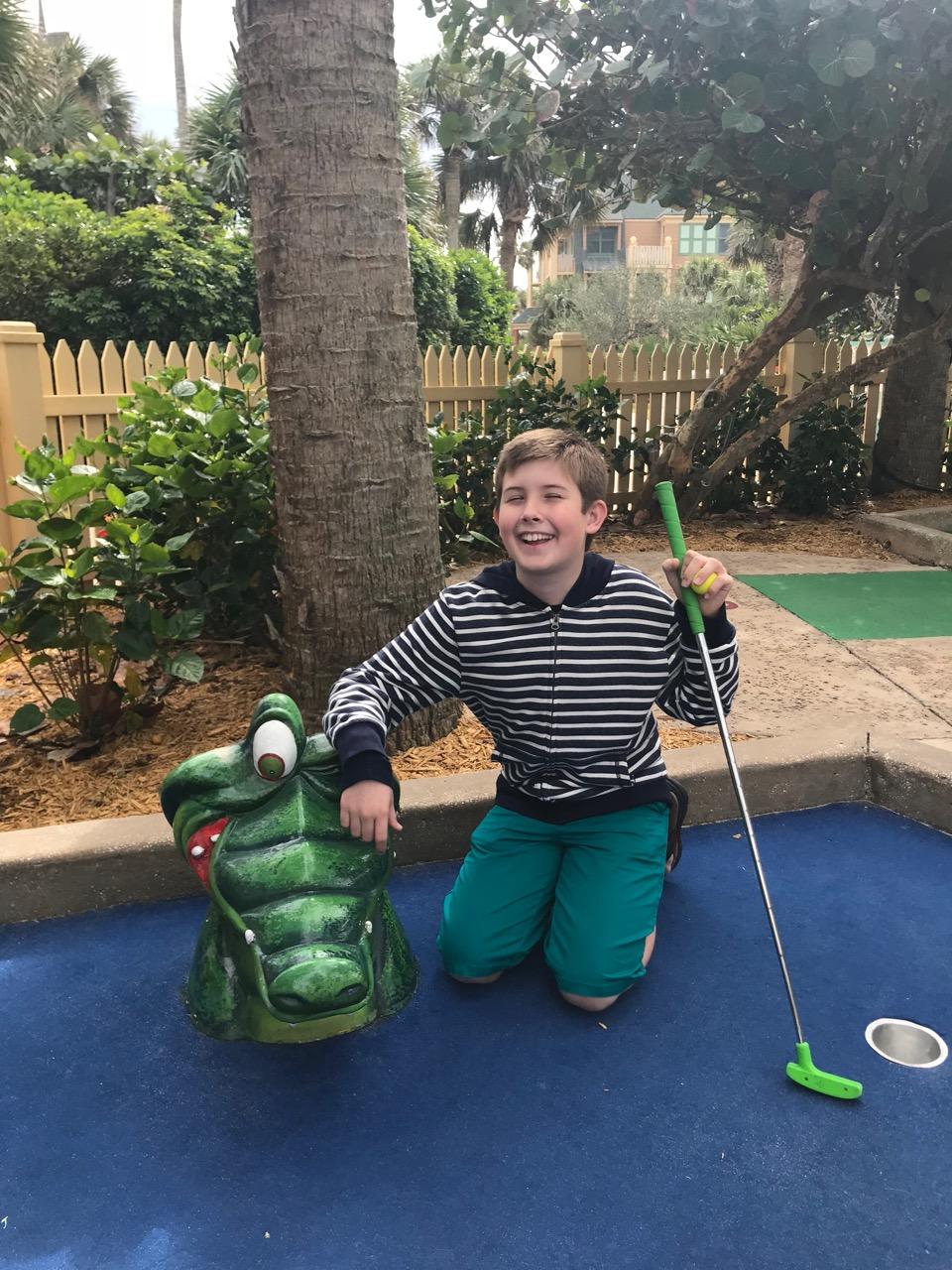 Disney\'s Vero Beach Resort - Port Holes Mini Golf