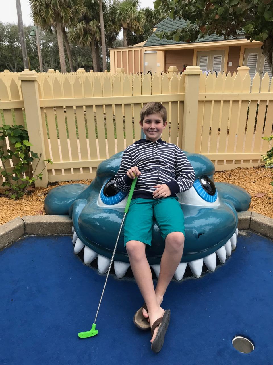 Disney's Vero Beach Resort - Port Holes Mini Golf