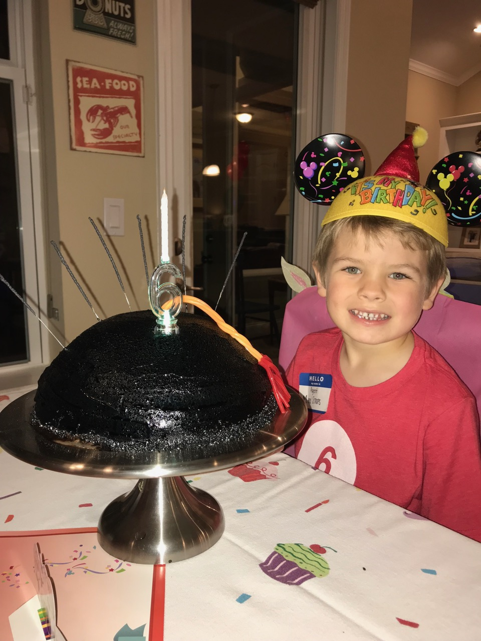 Sawyer\'s Sixth Birthday