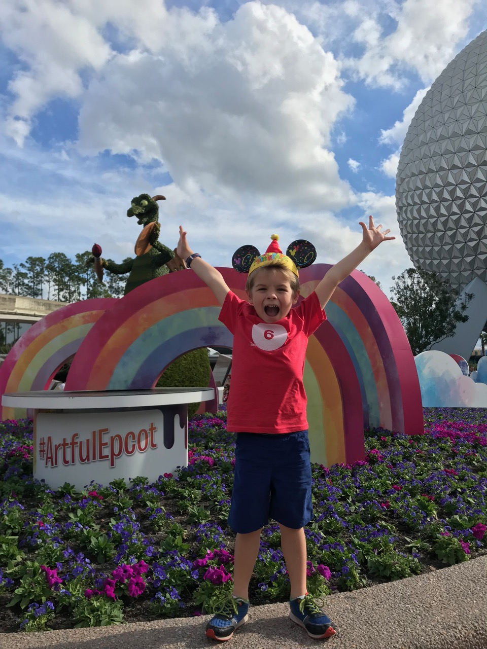 Sawyer\'s Sixth Birthday - Epcot