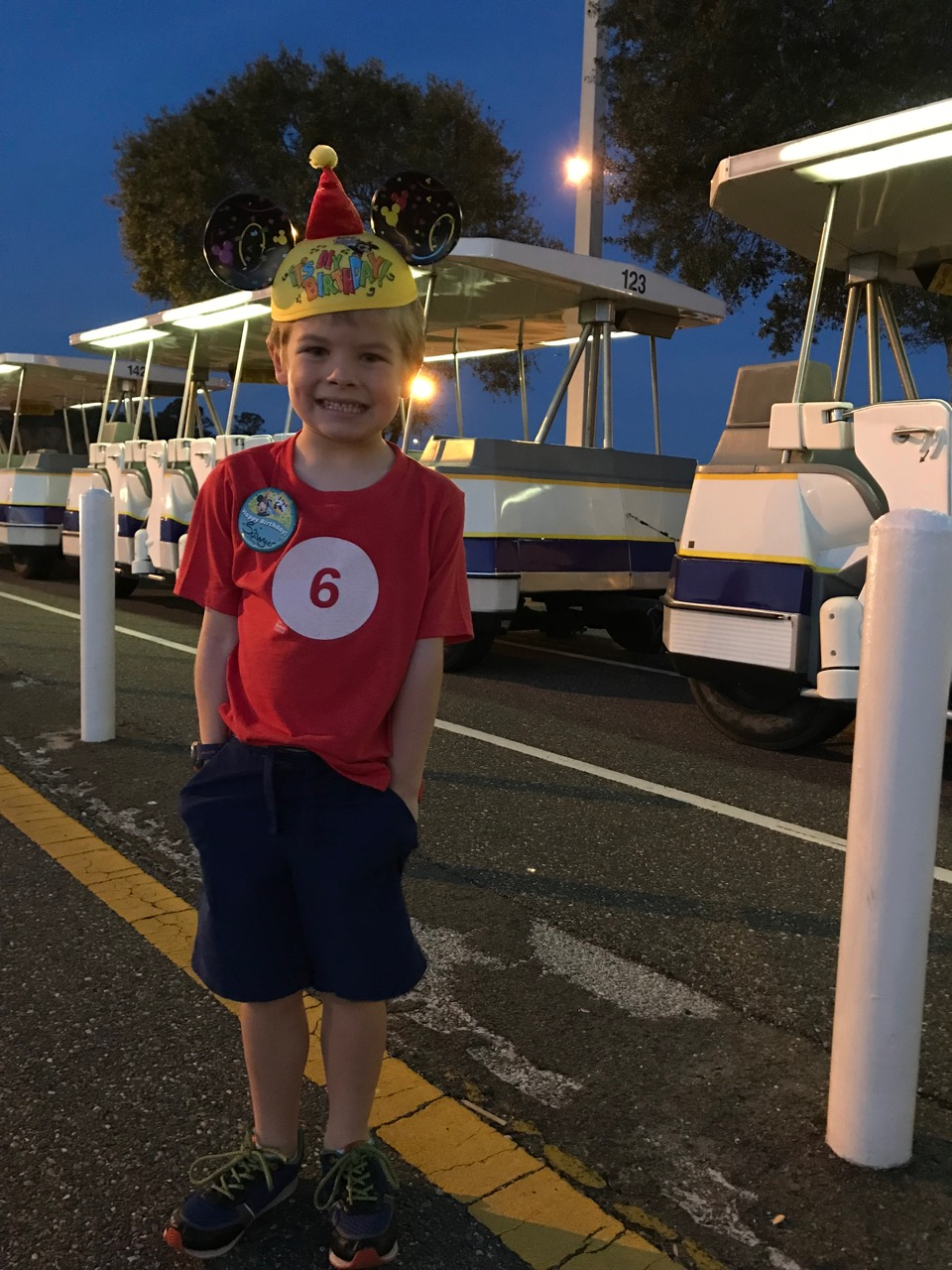 Sawyer's Sixth Birthday - Epcot