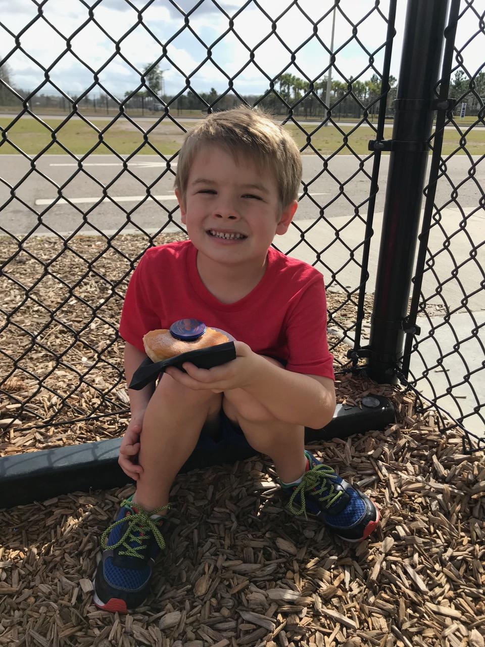 Sawyer\'s Sixth Birthday - School