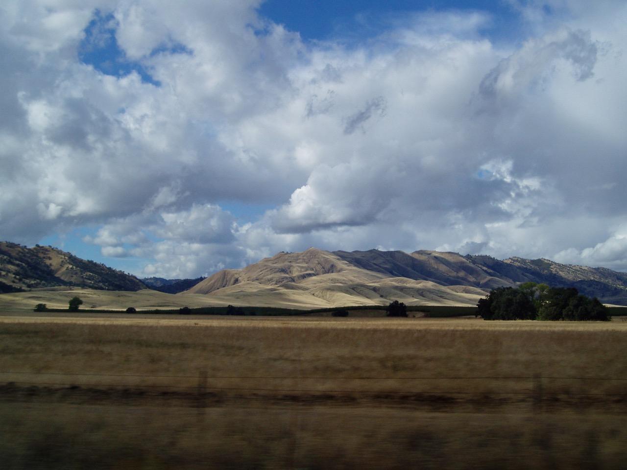California Countryside Mountains