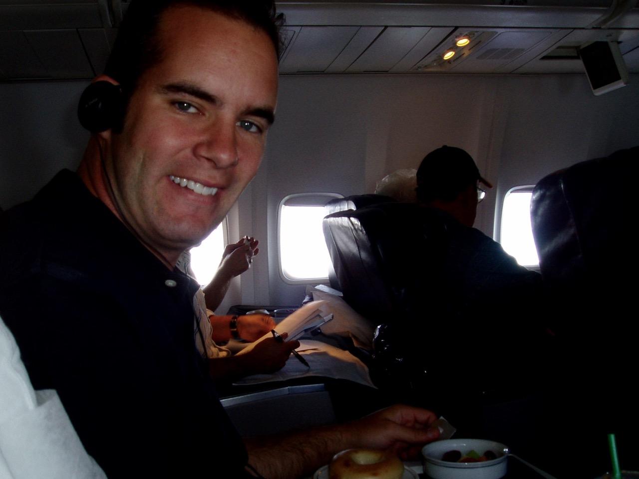 Honeymoon Flight to California Patrick