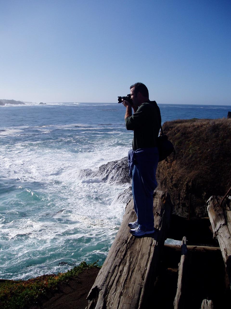 Pacific Ocean Off Mendocino Coast