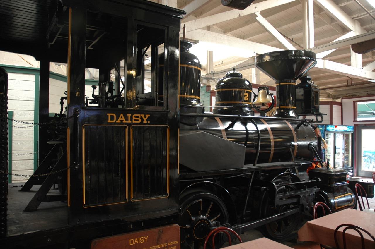 Old Train in Fort Bragg California