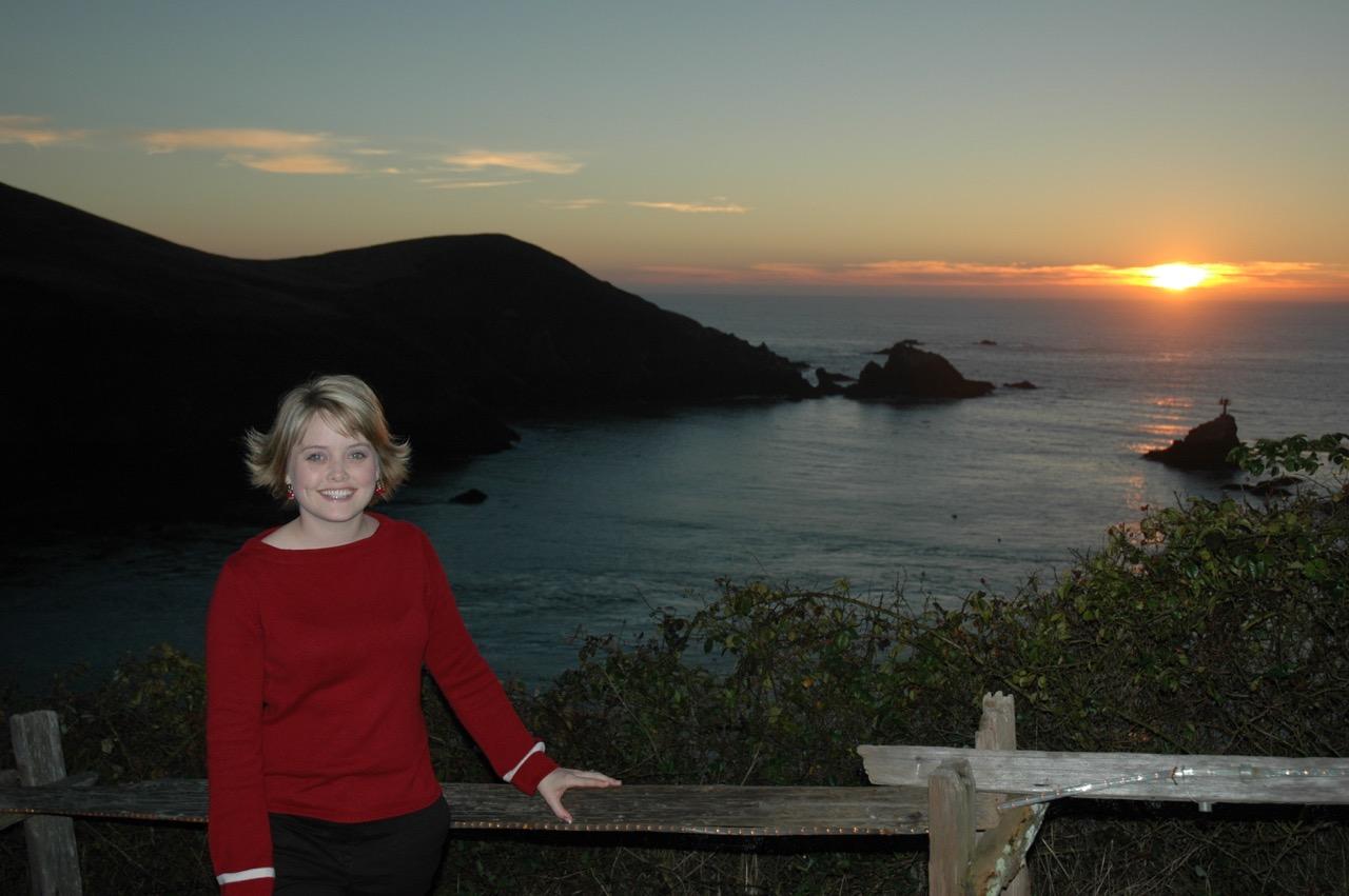 Albion River Inn Sunset Mendocino California