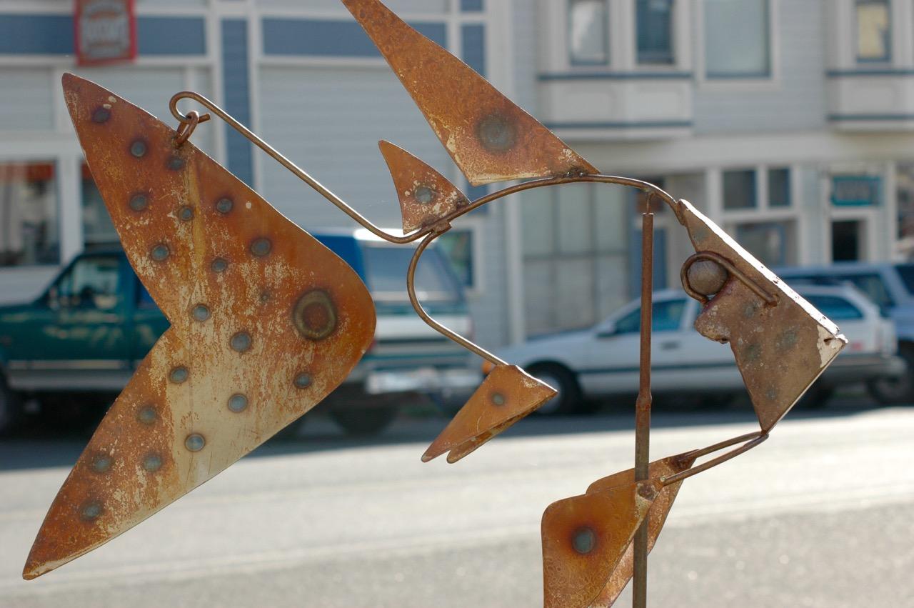 Downtown Mendocino California Art