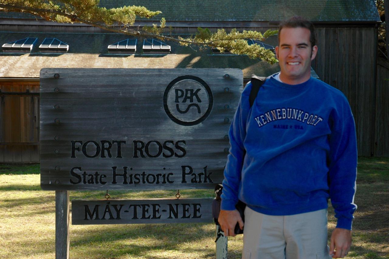 Fort Ross State Historical Park Jenner, CA