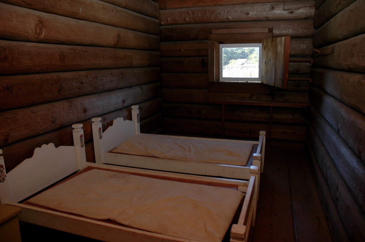 Sleeping Quarters at Fort Ross State Historical Park Jenner, CA