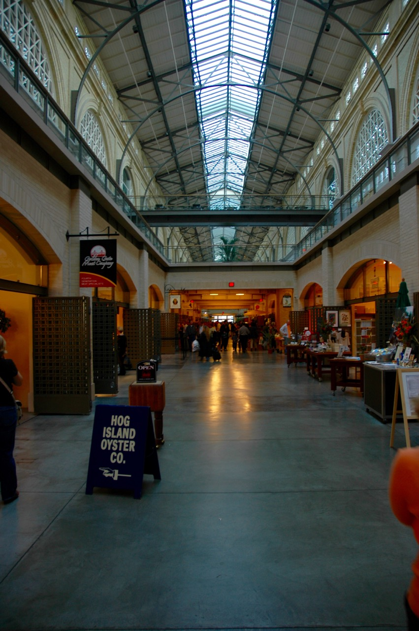 Shopping at Ferry Building Marketplace San Francisco CA