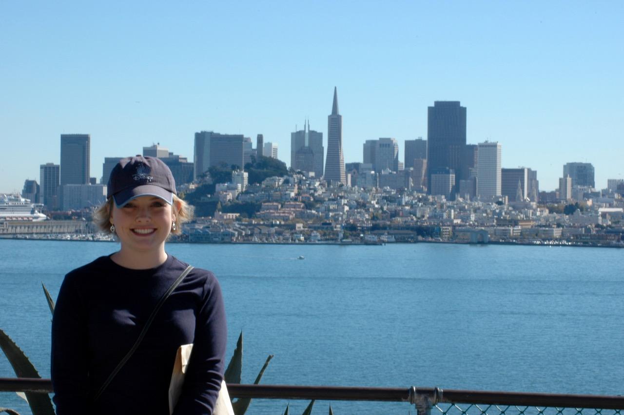 Alcatraz Island View San Francisco CA