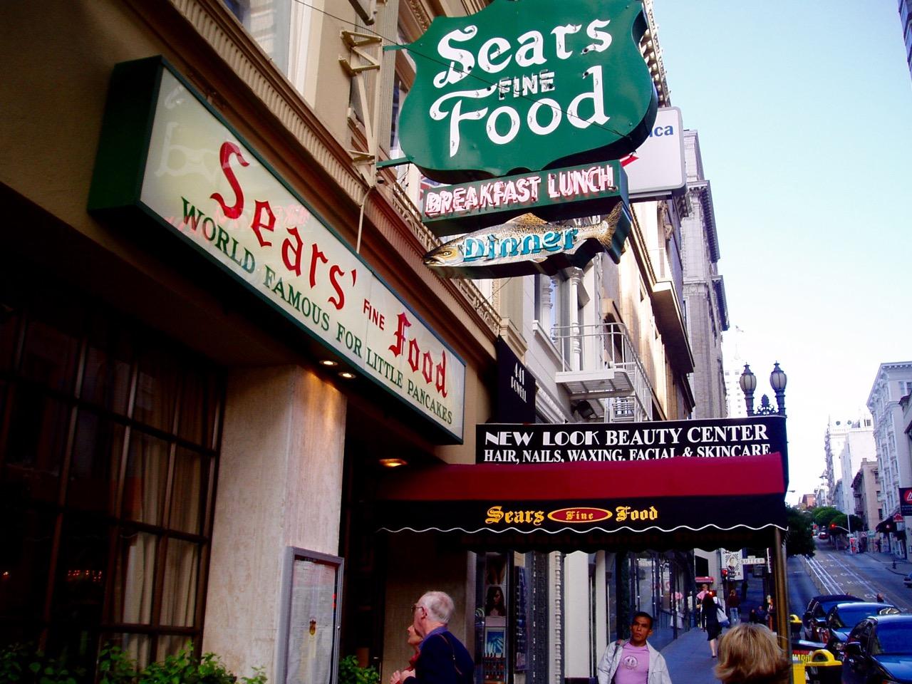Sears Fine Food San Francisco CA