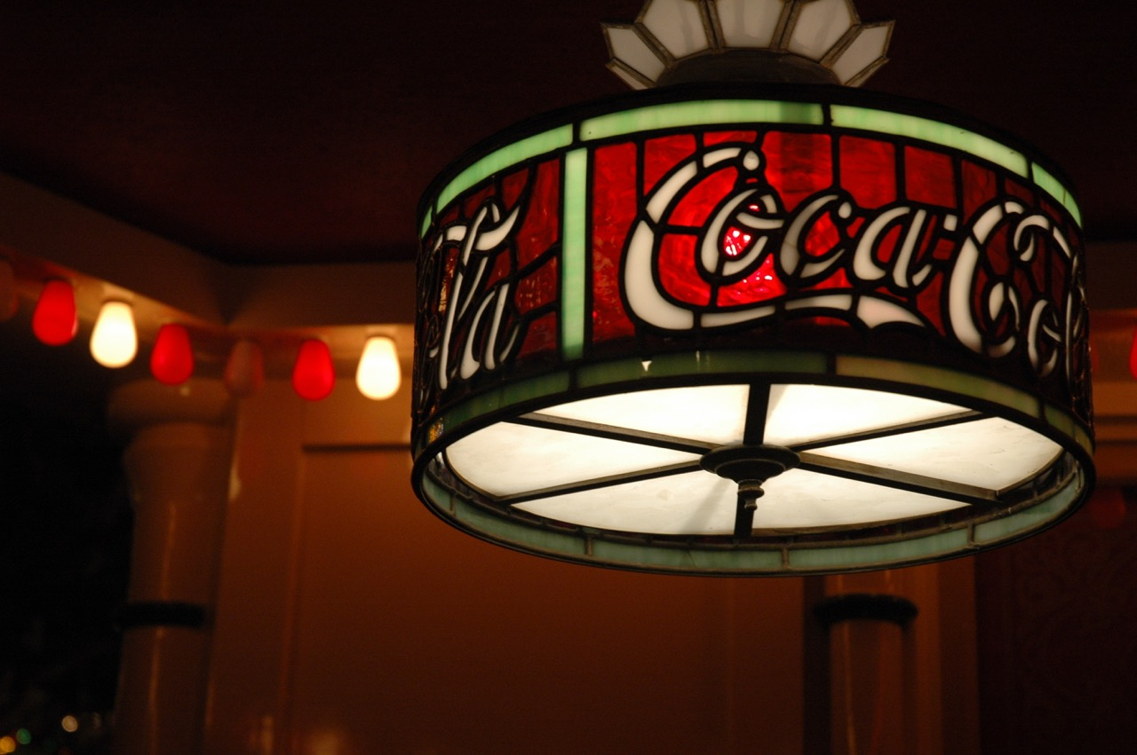 Disneyland Park Coca Cola Light