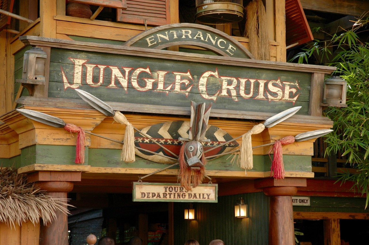 Jungle Cruise Attraction Disneyland Park