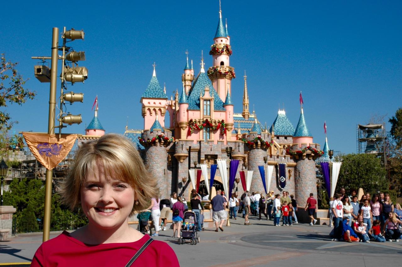 Sleeping Beauty Castle Disneyland Park