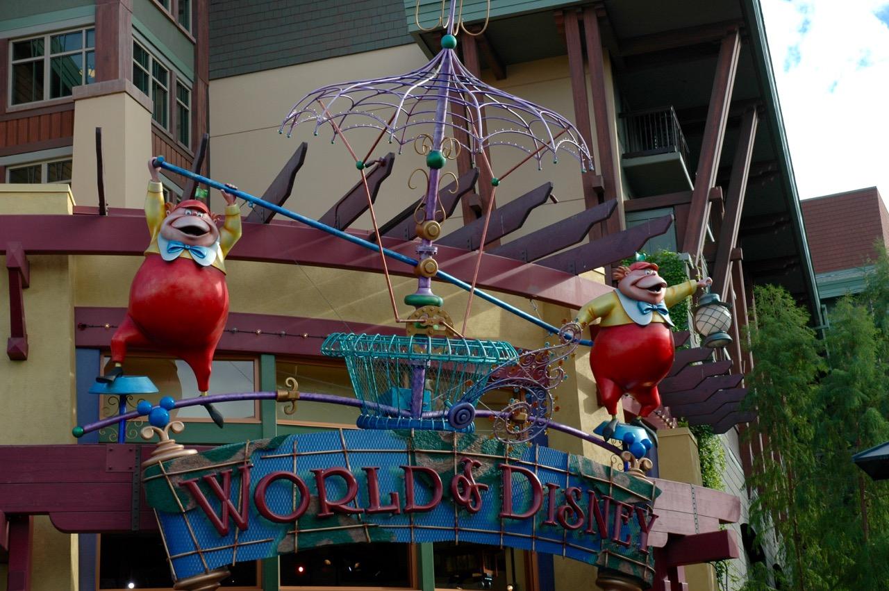 World of Disney Store Downtown Disney Disneyland