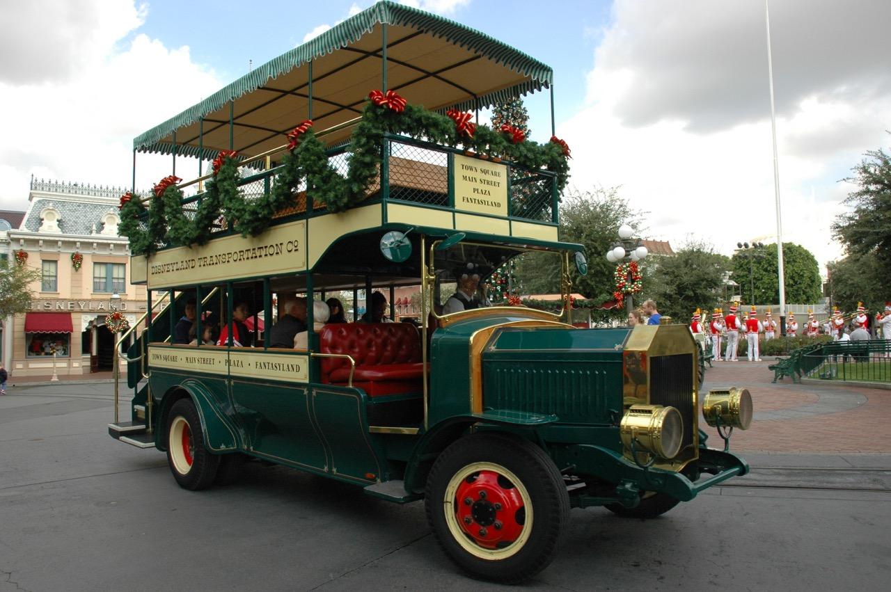 Double Decker Bus Disneyland